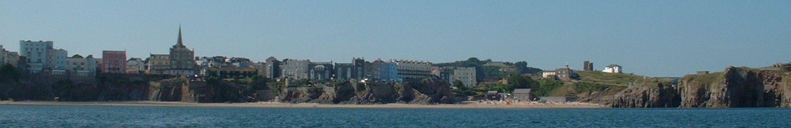 Tenby from the sea