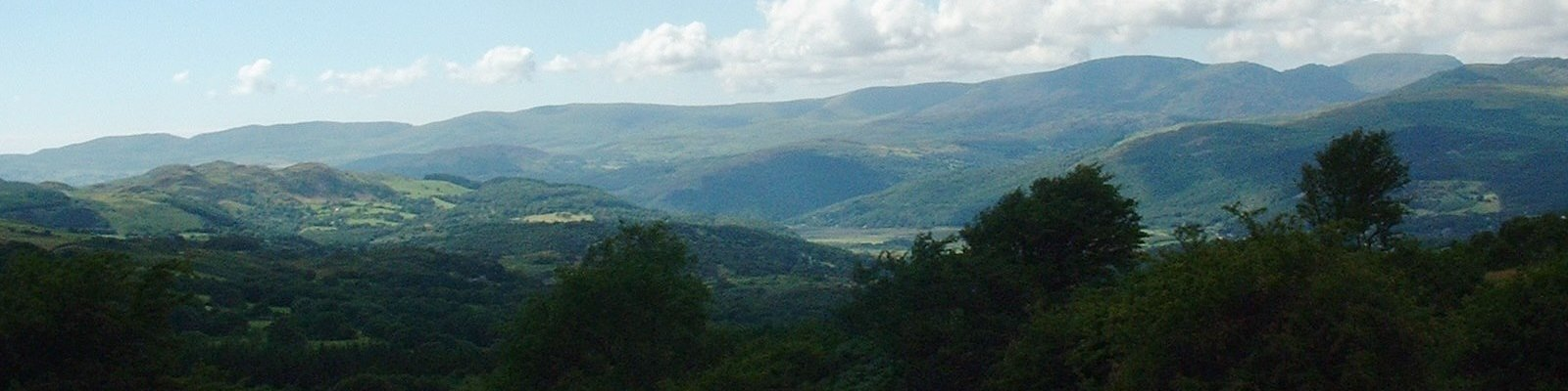 Mountains above Corris