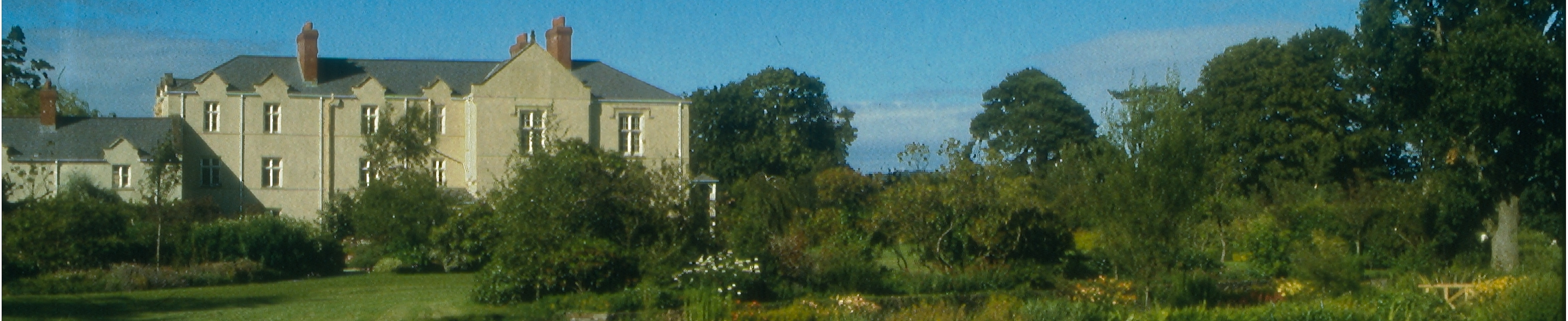 The mansion at Llanllyr