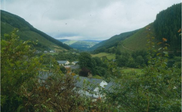 Corris from the west