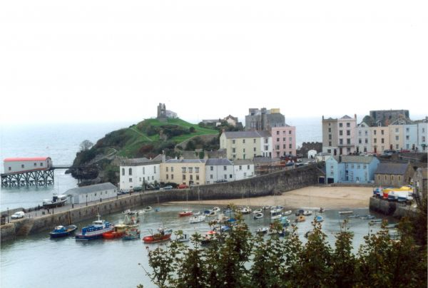 Tenby Harbour and East Beach