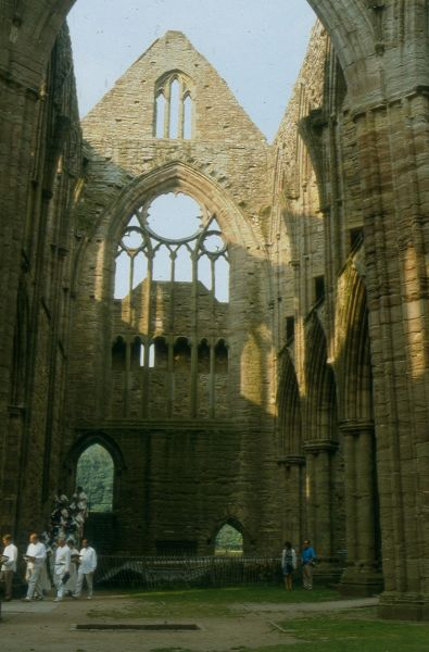A concert in the ruins at Tintern
