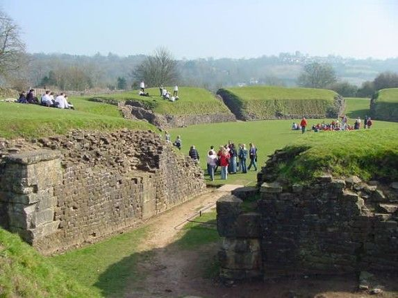The Roman amphitheatre at Caerleon