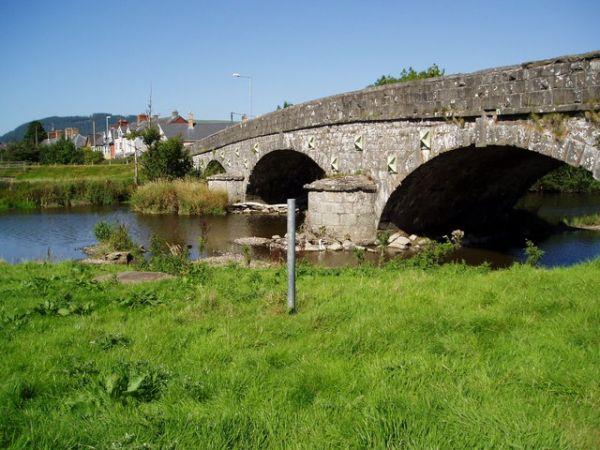 The bridge at Caersws
