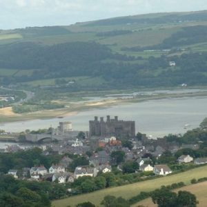 Conwy town and castle